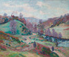 Art Prints of Le Pont Charraud Creuse by Jean-Baptiste-Armand Guillaumin