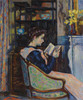 Art Prints of Mrs Guillaumin Reading by Jean-Baptiste-Armand Guillaumin