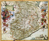 Art Prints of Map of Piemonte, 1682 (485) by Joan Blaue