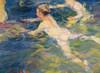 Art Prints of Swimmers by Joaquin Sorolla y Bastida