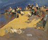 Art Prints of Washerwomen in Galicia by Joaquin Sorolla y Bastida