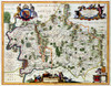 Art Prints of Middlesex and Hertfordshire, 1646 (329) by Johannes Jonnsonius