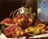 Art Prints of Still Life with an Abundance of Fruit by John F. Francis