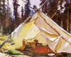 Art Prints of A Tent in the Rockies by John Singer Sargent