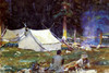 Art Prints of Camping near Lake O'Hara by John Singer Sargent