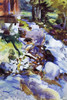 Art Prints of Rushing Brook by John Singer Sargent