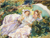Art Prints of Simplon Pass, the Tease by John Singer Sargent