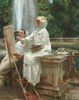 Art Prints of The Fountain by John Singer Sargent