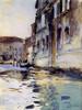 Art Prints of Venetian Canal Palazzo Contarini Degli Scrigni e Corfu by John Singer Sargent