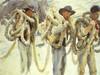 Art Prints of Workmen at Carrara by John Singer Sargent
