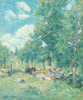 Art Prints of A Bit of New England by Julian Alden Weir