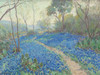 Art Prints of A Hillside of Bluebonnets, Early Morning by Julian Onderdonk