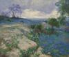 Art Prints of Texas landscape with Bluebonnets by Julian Onderdonk