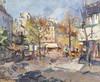 Art Prints of Autumn in Paris by Konstantin Alexeevich Korovin