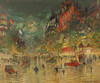 Art Prints of Paris by Night by Konstantin Alexeevich Korovin