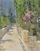 Art Prints of Gurzuf Landscape by Konstantin Alexeevich Korovin