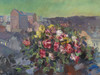 Art Prints of Flowers over the City by Konstantin Alexeevich Korovin