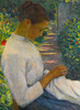 Art Prints of Eugenie in the Garden by Lilla Cabot Perry