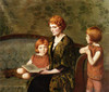 Art Prints of The Story Hour by Lilla Cabot Perry