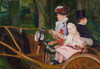 Art Prints of A Woman and a Girl Driving by Mary Cassatt