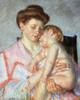 Art Prints of Sleepy Baby by Mary Cassatt