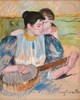 Art Prints of The Banjo Lesson, 1894 by Mary Cassatt