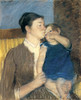 Art Prints of Young Mother, 1888 by Mary Cassatt