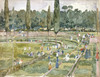 Art Prints of The Race Track by Maurice Prendergast