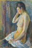 Art Prints of Seated Nude by Maximilien Luce