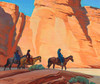 Art Prints of Navajos in a Canyon by Maynard Dixon