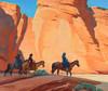 Art Prints of Navajos in a Canyon by Maynard Dixon