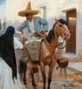 Art Prints of The Milkman, Guadalajara, Mexico by Maynard Dixon