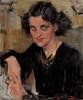 Art Prints of Lady in Black by Nicolai Fechin