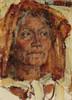 Art Prints of The Golden kerchief by Nicolai Fechin