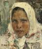 Art Prints of Peasant Girl by Nicolai Fechin