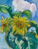 Art Prints of Sunflowers by Nikolai Aleksandrovich Tarkhov