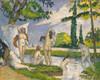 Art Prints of Six Bathers by Paul Cezanne