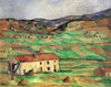 Art Prints of Around Gardanne by Paul Cezanne