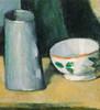 Art Prints of Bowl and Milk Jug by Paul Cezanne