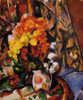Art Prints of Chrysanthemums by Paul Cezanne