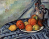 Art Prints of Fruit and Jug on a Table by Paul Cezanne
