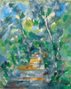 Art Prints of Forest Scene, Path from Mas Jolie to Chateau Noir by Paul Cezanne
