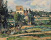 Art Prints of The Mill on the River Pontoise by Paul Cezanne