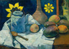 Art Prints of Still Life with Teapot and Fruit by Paul Gauguin