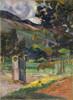 Art Prints of Tahitian Landscape II by Paul Gauguin