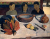 Art Prints of The Meal by Paul Gauguin