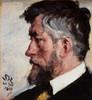 Art Prints of J. F. Willumsen by Peder Severin Kroyer