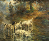 Art Prints of The Cooling Stream by Percival Leonard Rosseau