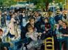 Art Prints of Dance at le Moulin de la Galette by Pierre-Auguste Renoir