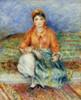 Art Prints of Algerian Girl by Pierre-Auguste Renoir